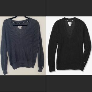 BUNDLE of 2 Victoria Secret PINK Sweaters